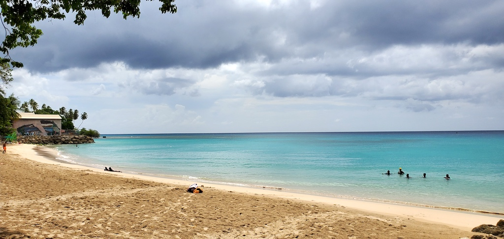 Beach outside of Speightstown, Barbados