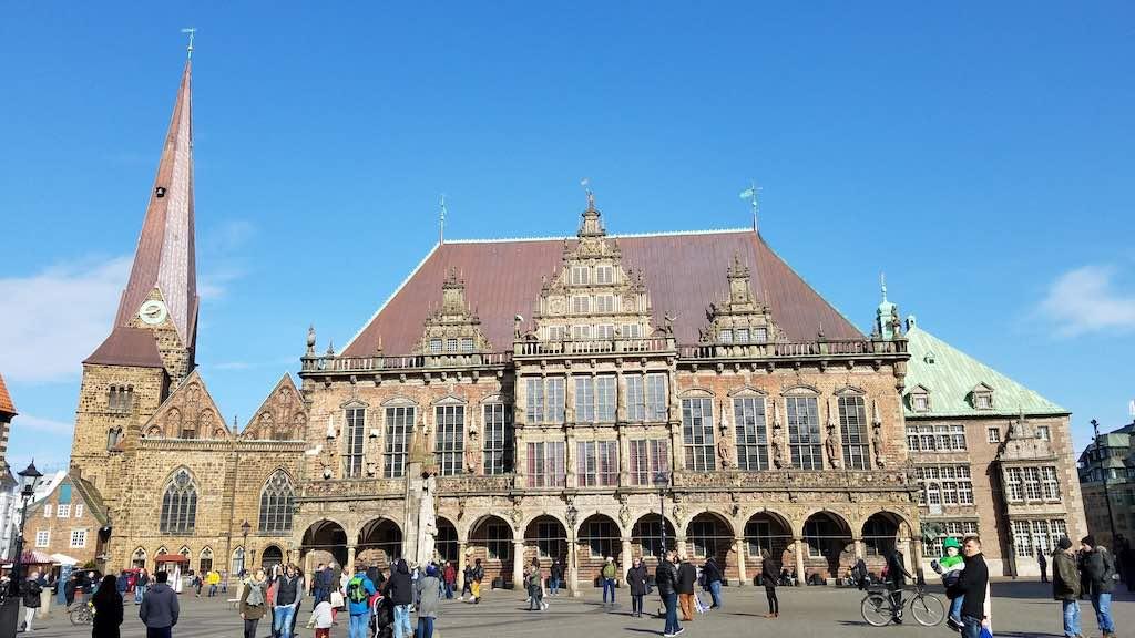 Marketplatz, Bremen Germany