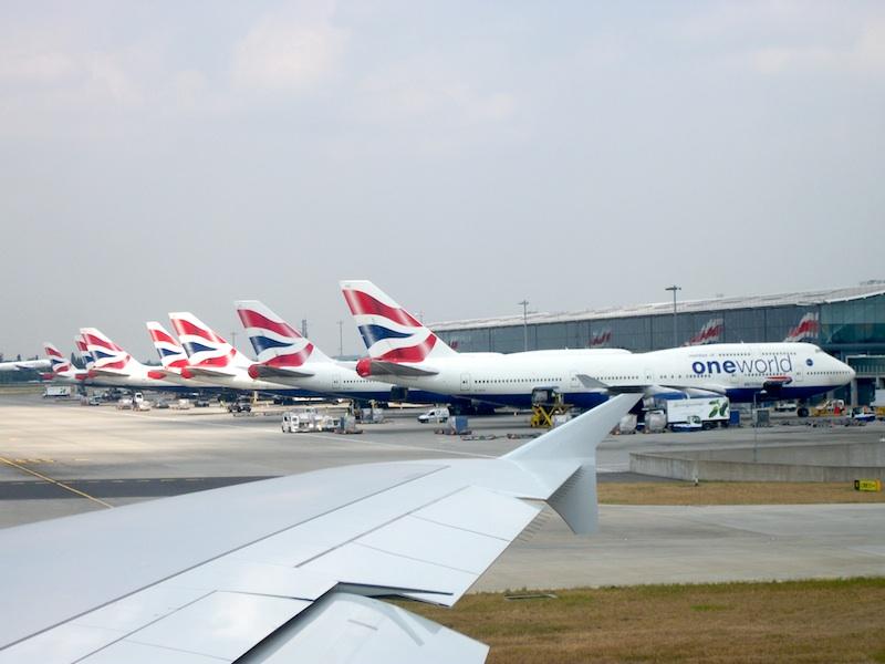 British Airways in Heathrow